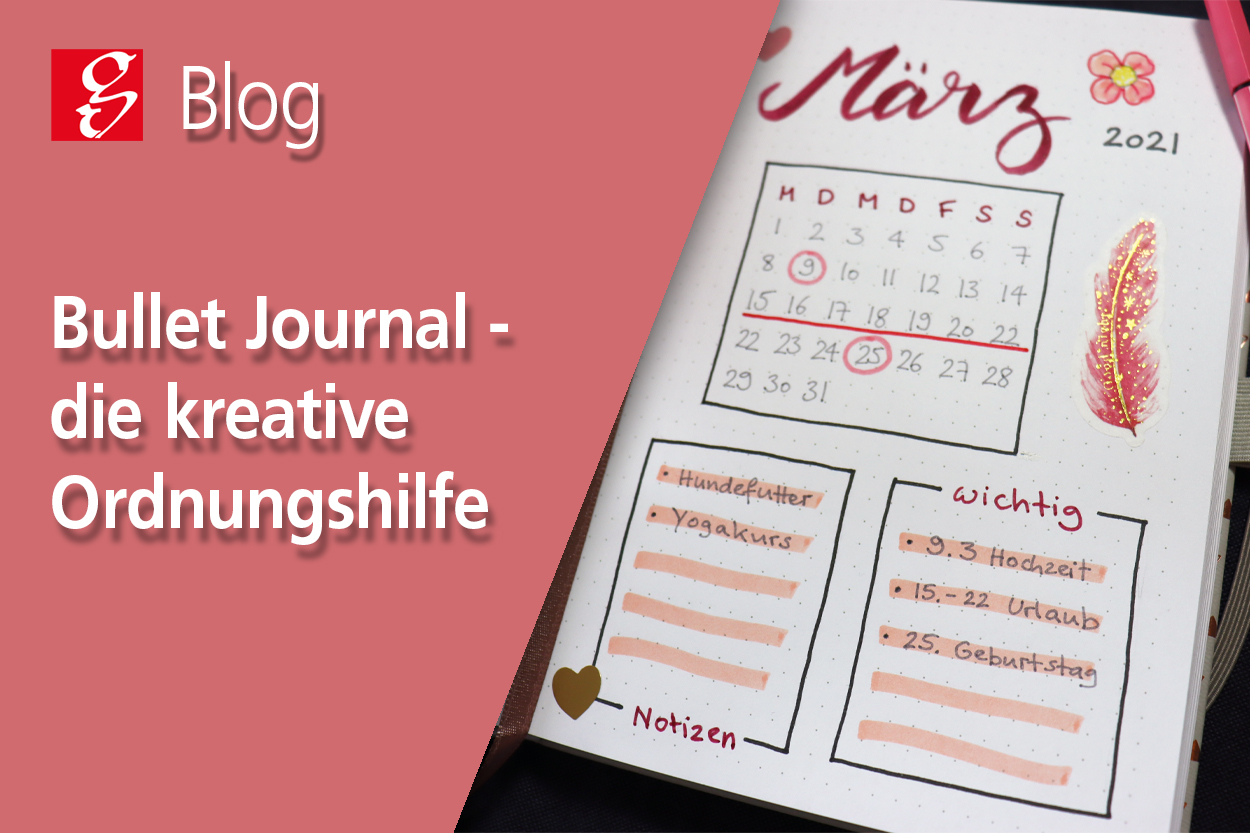 Blogbeitrag Bullet Journaling