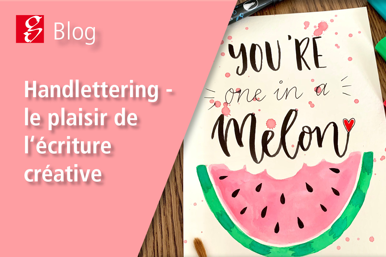 Article de blog Handlettering