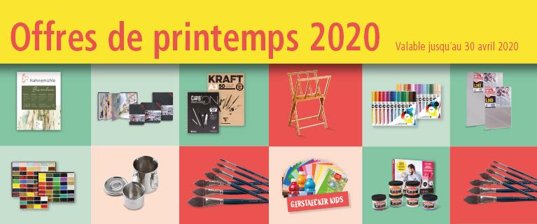 offres de printemps 2020
