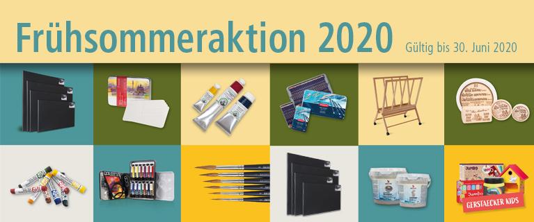 Gerstaecker Frühsommeraktion 2020