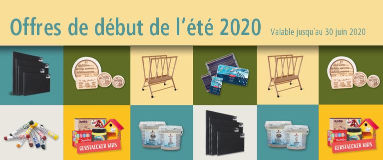 Offres du début de l´été 2020